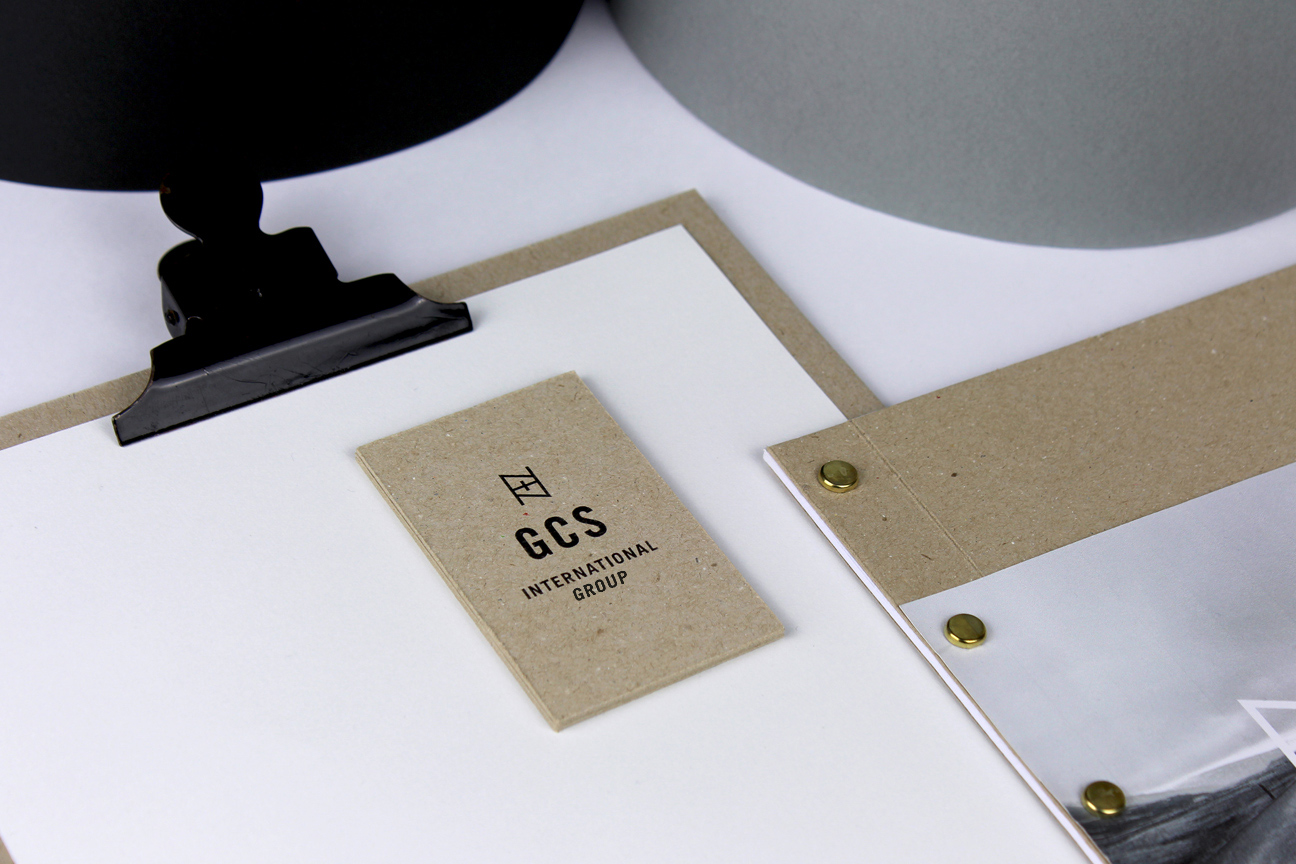 GCS International Group - brand identity