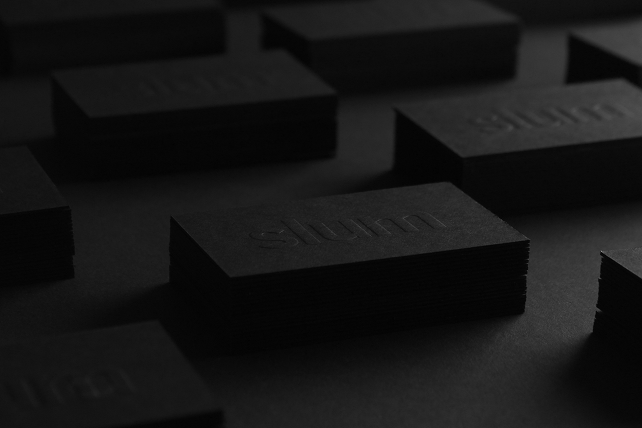 slum - visual identity